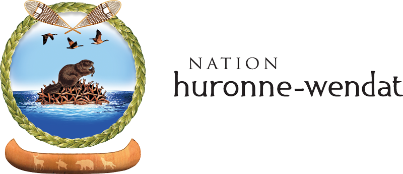 Nation Huron-Wendat Logo