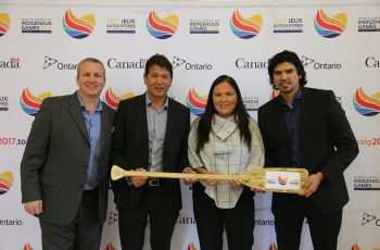 TED NOLAN AND TORONTO 2017 NAIG CELEBRATE SUCCESSFUL VOLUNTEER CAMPAIGN LAUNCH